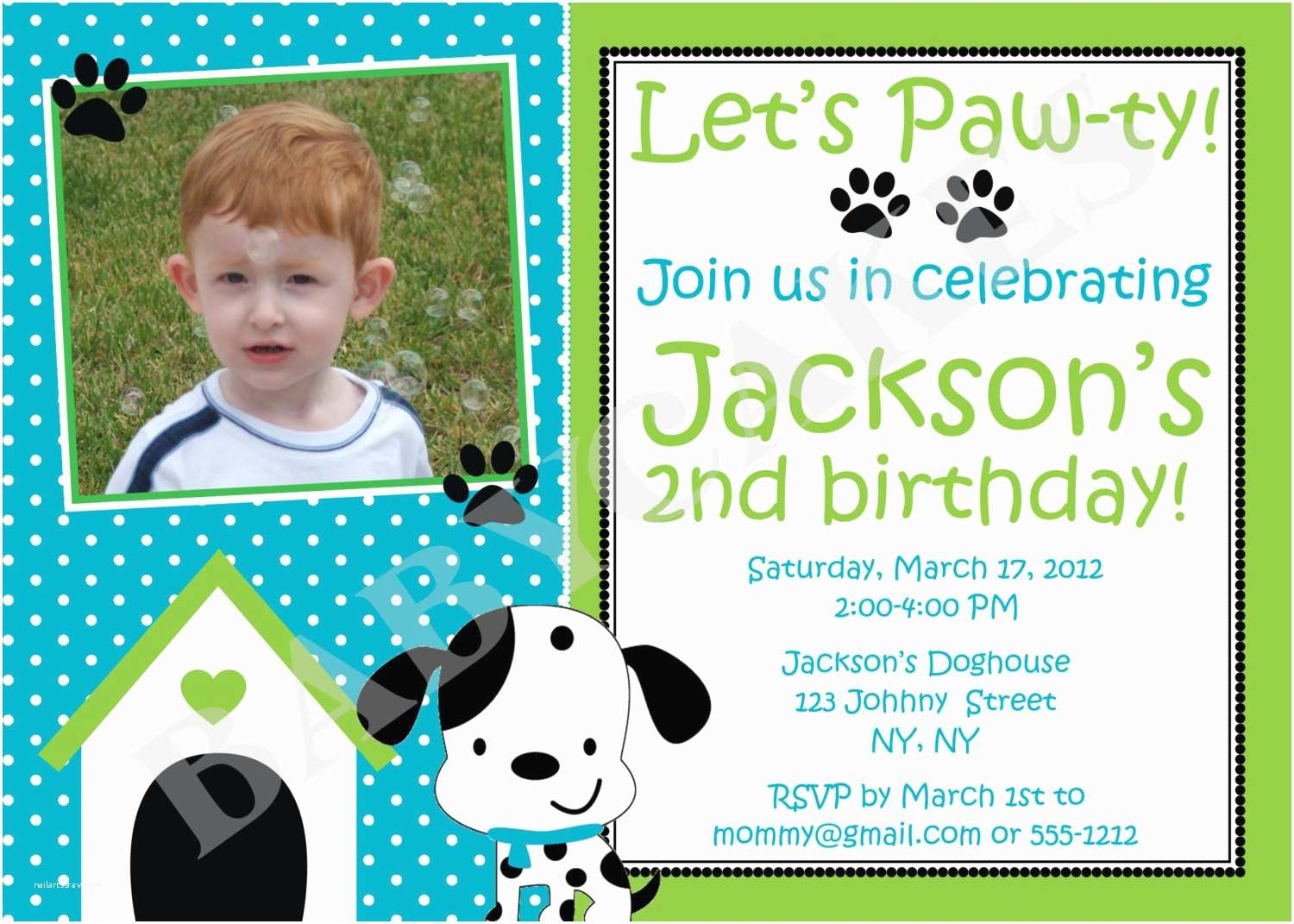 Puppy Party Invitations top Collection Puppy Birthday Party Invitations