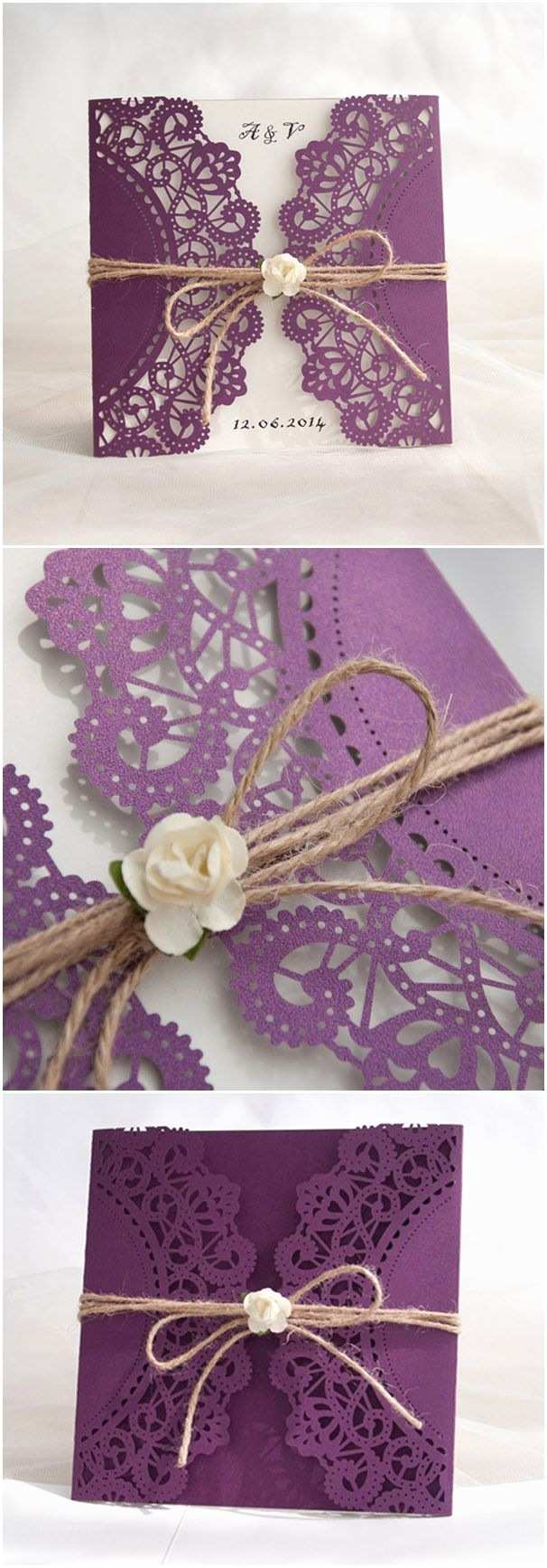 Purple and Blue Wedding Invitations 78 Best Images About Sara Davies C On Pinterest