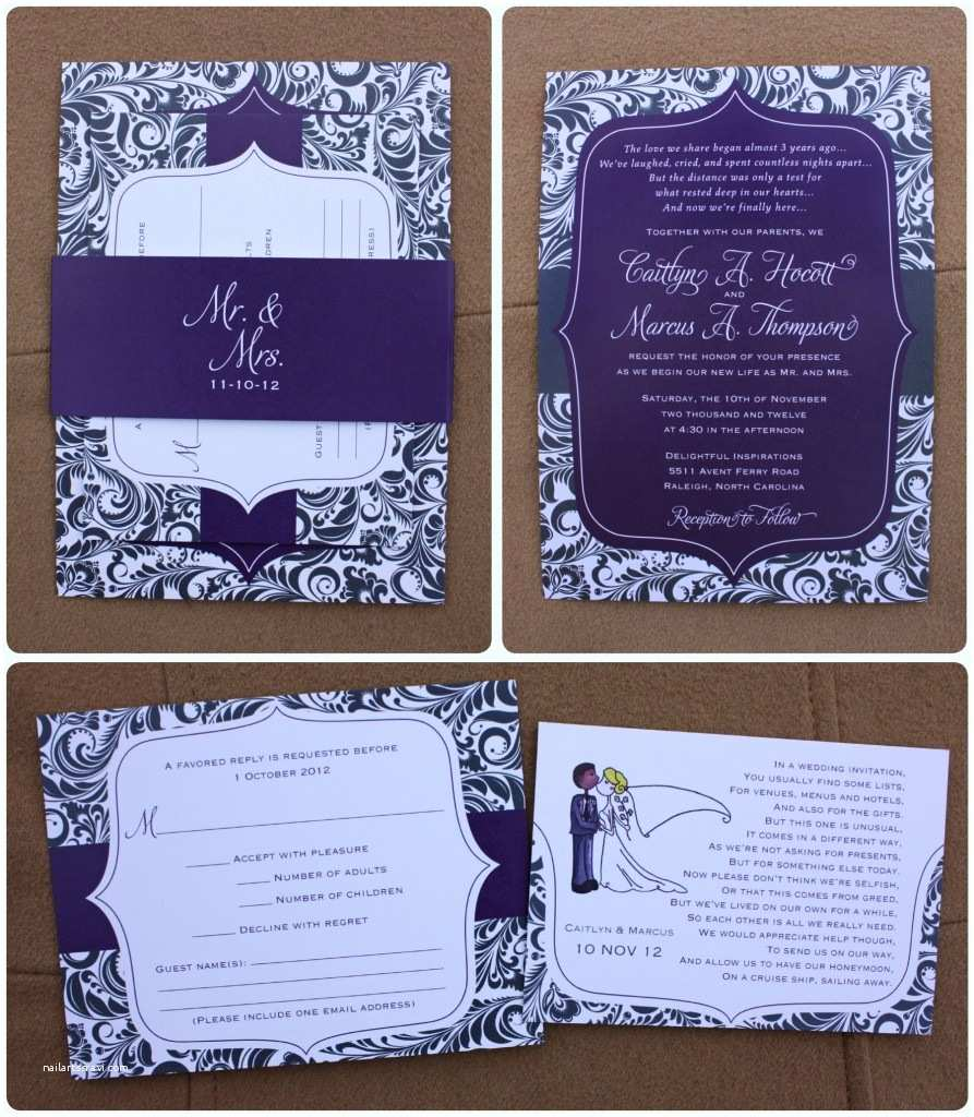 Purple and Blue Wedding Invitations Best Purple and Blue Wedding Invitations S Styles