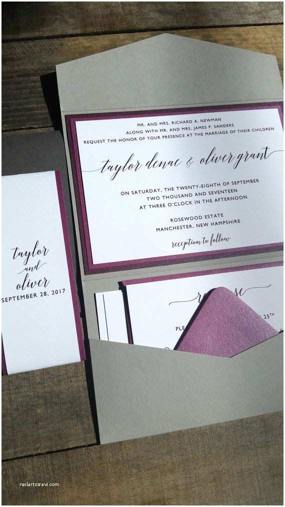 Purple and Gray Wedding Invitations 25 Best Ideas About Grey Wedding Invitations On Pinterest