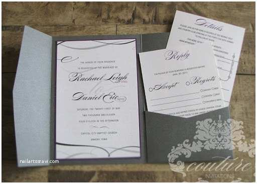 Purple and Gray Wedding Invitations Marne S Blog This Gorgeous Wedding Invitation Features A