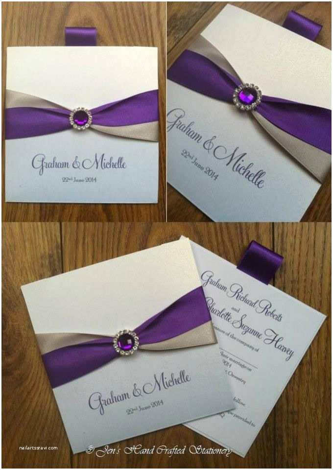 Purple and Gray Wedding Invitations Wallet Size Wedding Invites Wedding Ideas