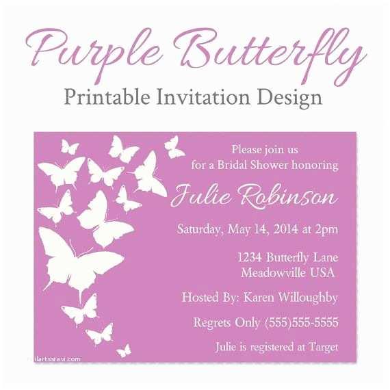 Purple butterfly Baby Shower Invitations 1000 Ideas About butterfly Baby Shower On Pinterest