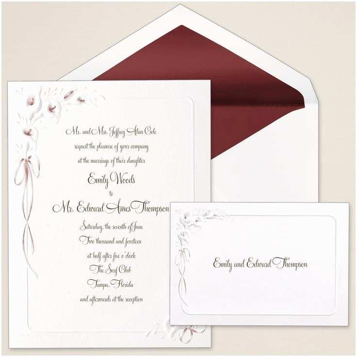 Purple Calla Lily Wedding Invitations Calla Lilies Wedding Invitation