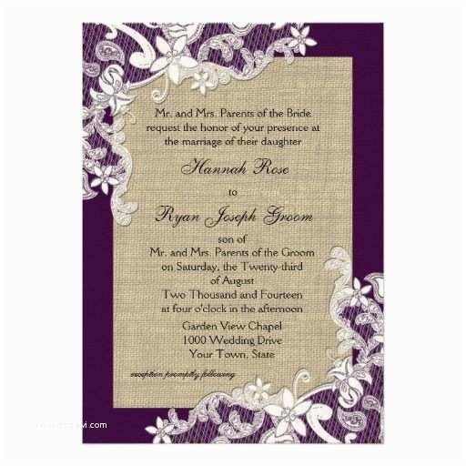 Purple Lace Wedding Invitations Best 25 Purple Invitations Ideas On Pinterest