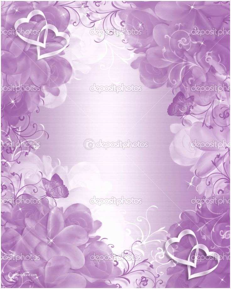 Purple Rose Wedding Invitations 100 Best Images About Wedding Invitation Border Bg