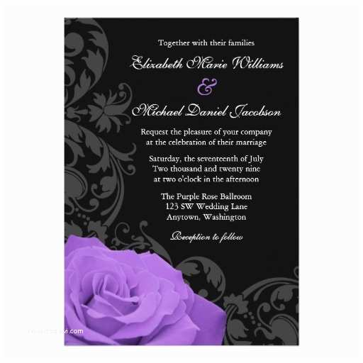 Purple Rose Wedding  Purple Rose Flourish Wedding