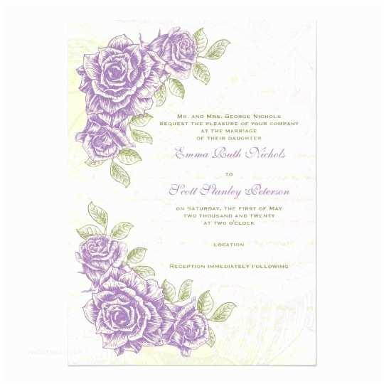 Purple Rose Wedding S Vintage Bellflower Purple Roses Wedding