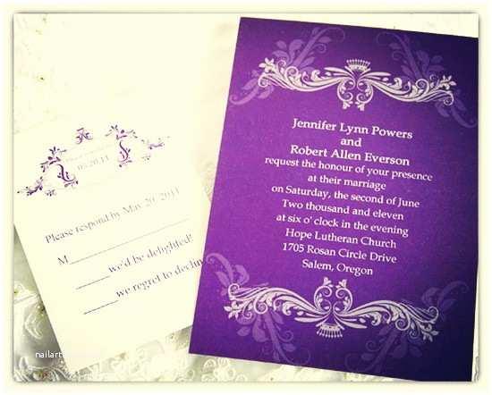 Purple Vintage Wedding Invitations Choose Your Invitation Style – Vintage Wedding Invitations