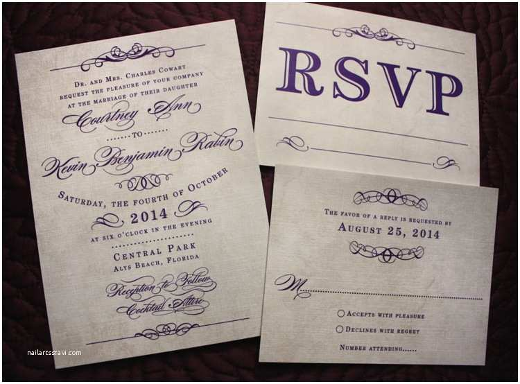 Purple Vintage Wedding Invitations Dots & Stripes Archives Page 2 Of 12 Emdotzee Designs