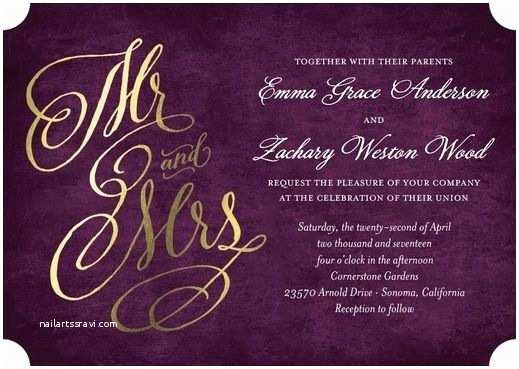 Purple Wedding Invitations Best 25 Purple Invitations Ideas On Pinterest
