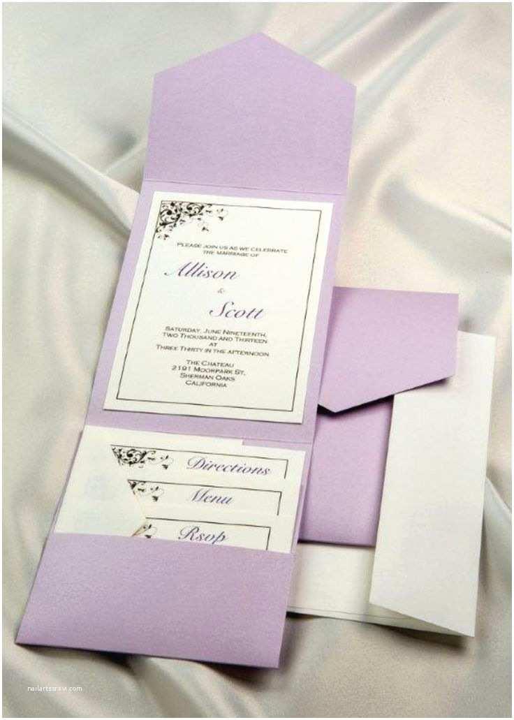 Purple Wedding Invitations Kits 25 Best Ideas About Diy Wedding Invitation Kits On