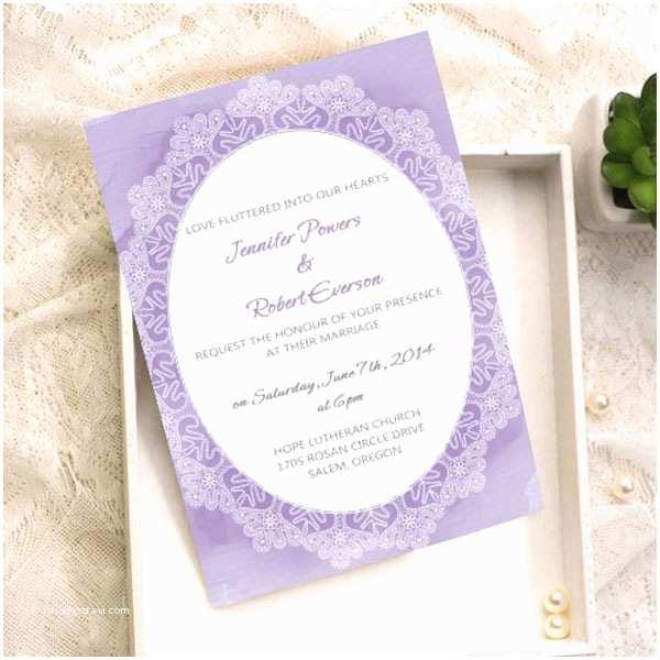 Purple Wedding Invitations Kits Purple Wedding Color Ideas Beautiful Bridesmaid Dresses