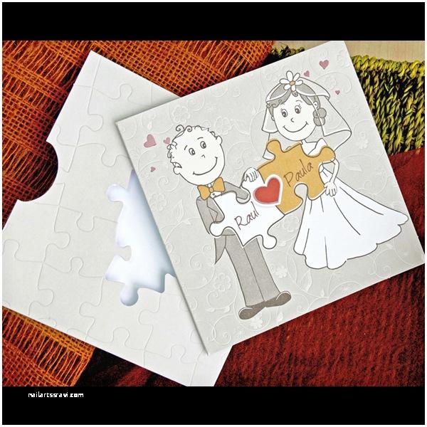 Puzzle Wedding Invitations Puzzle Envelope Karamel Cyprus Wedding & Christening