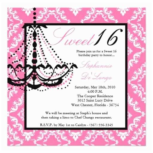 Quinceanera Invitation Wording Awesome Sweet 16 Birthday Invitations Wording