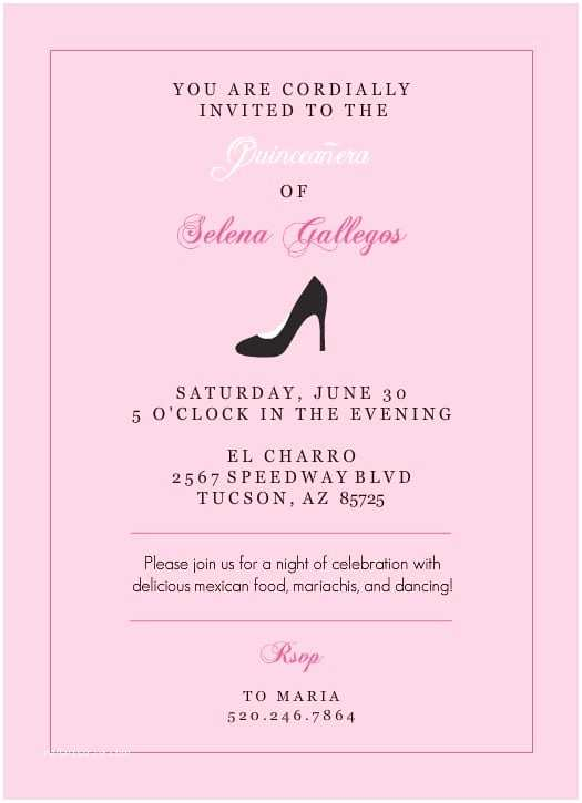 free quinceanera invitation print