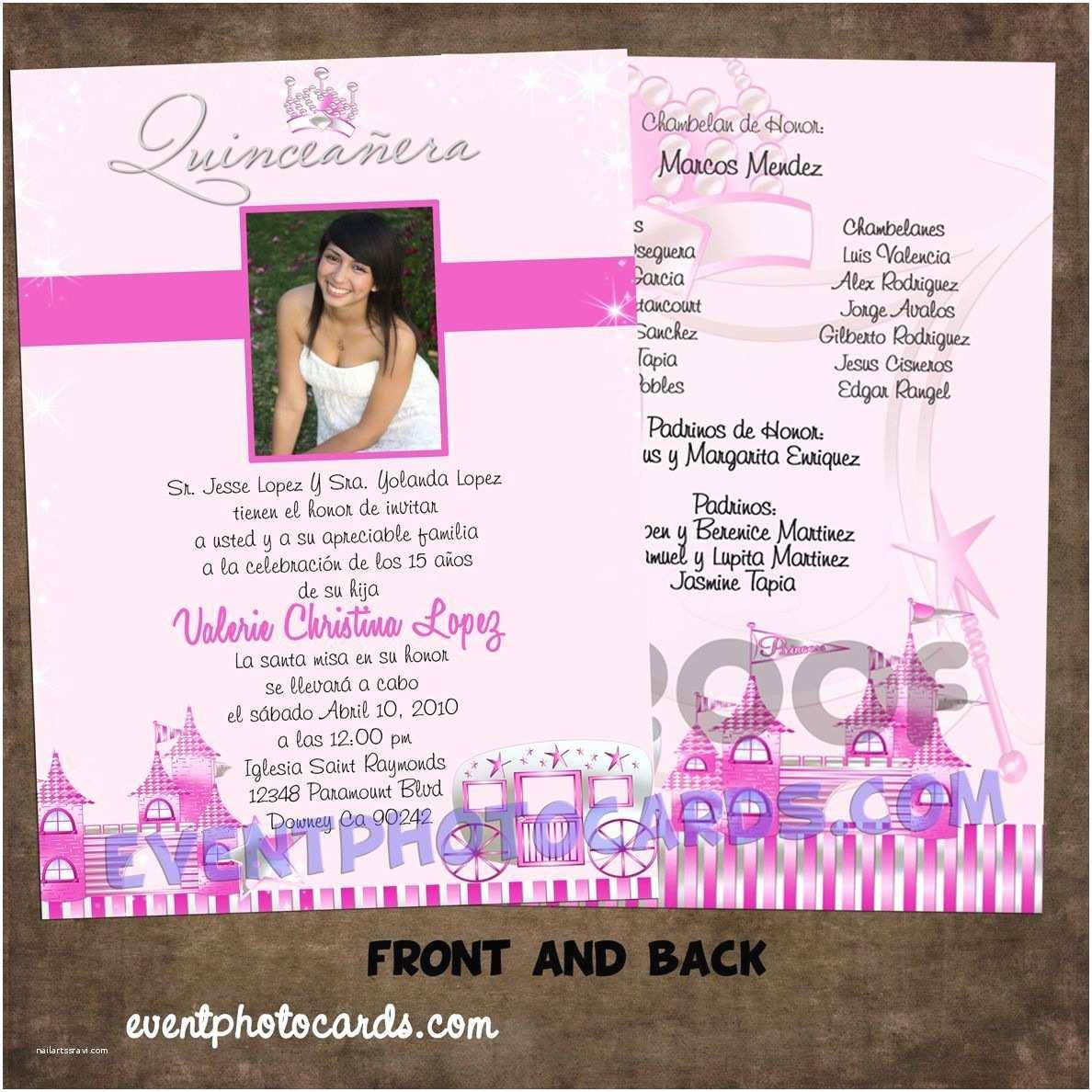 Quinceanera Invitation Wording Princess Beautiful Quinceanera Sweet 16 Invitations