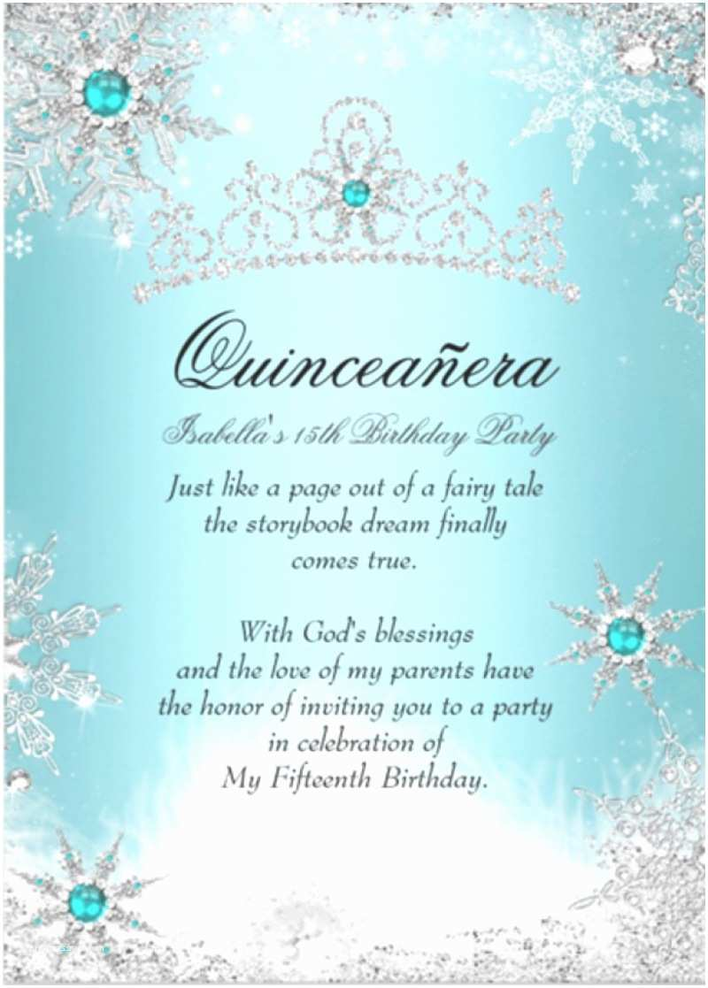 Quinceanera Invitation Wording Quinceanera Invitation Templates – Diabetesmangfo