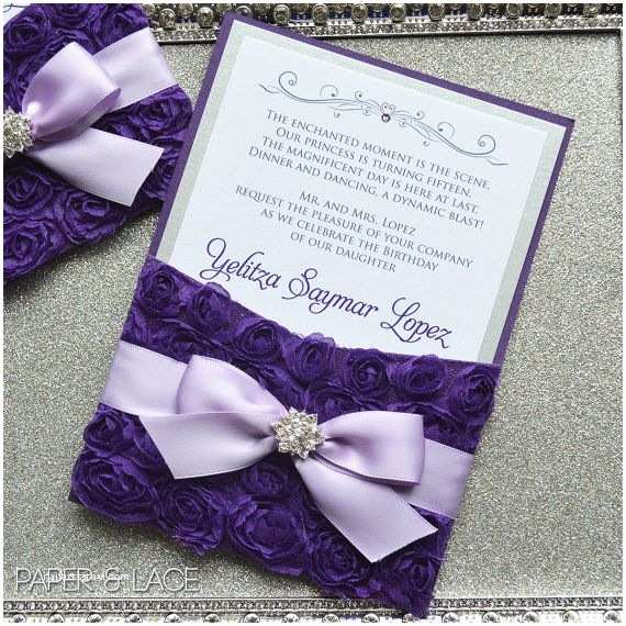 Quinceanera Invitations 173 Best Etsy Shop Images On Pinterest