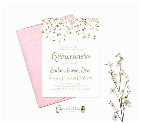 Quinceanera Invitations Ideas Free Printable Quinceanera Invitation Ticket