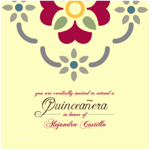 Quinceanera Invitations In Spanish Quinceanera Invitation Wording Ideas & Inspiration From