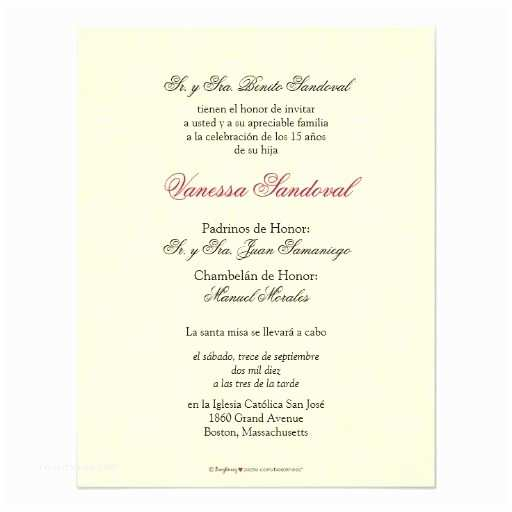 Quinceanera Invitations In Spanish Spanish Yellow Damask Quinceañera Invitación Card