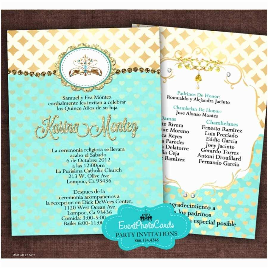 Quinceanera Invitations Quince Invites Elegant Quinceanera Invitations