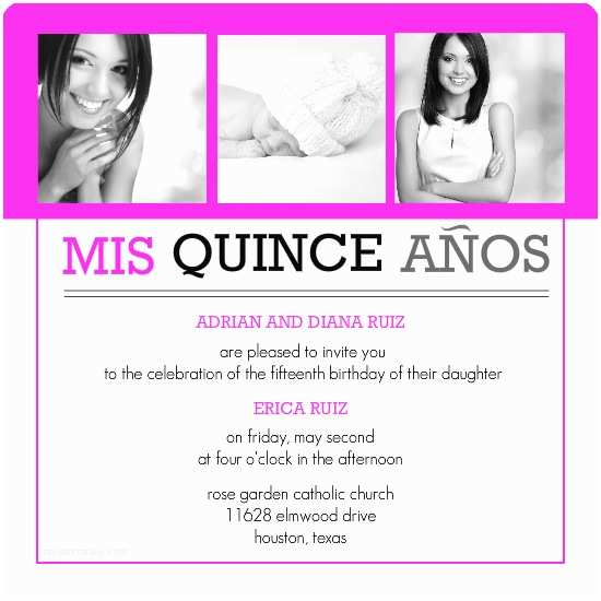 Quinceanera Invitations Templates Download and Print Invitation Template for Quinceanera