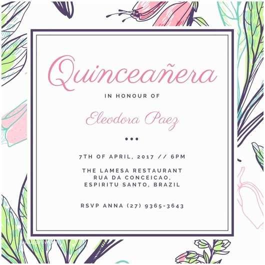 Quinceanera Invitations Templates Quinceanera Invitations Templates – orderecigsjuicefo