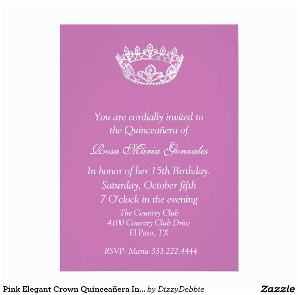 37 Quinceanera Invitations Wording In Spanish