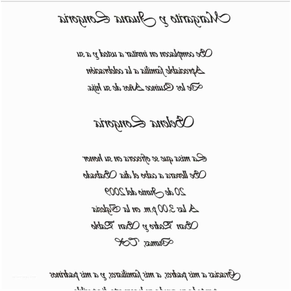 Quinceanera Invitations Wording In Spanish Wedding Invitation Wording In Spanish