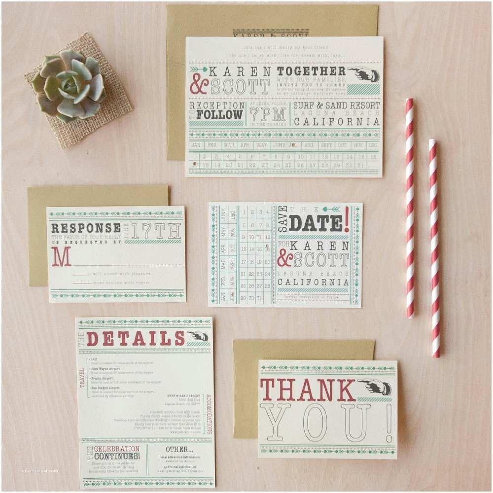 Quirky Wedding Invitations Punch Card Wedding Invitation Fbeat Invitation Fun Quirky
