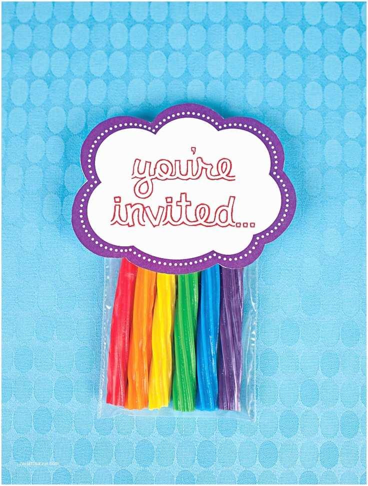 Rainbow Birthday Invitations 200 Best Enchanted Ball Images On Pinterest