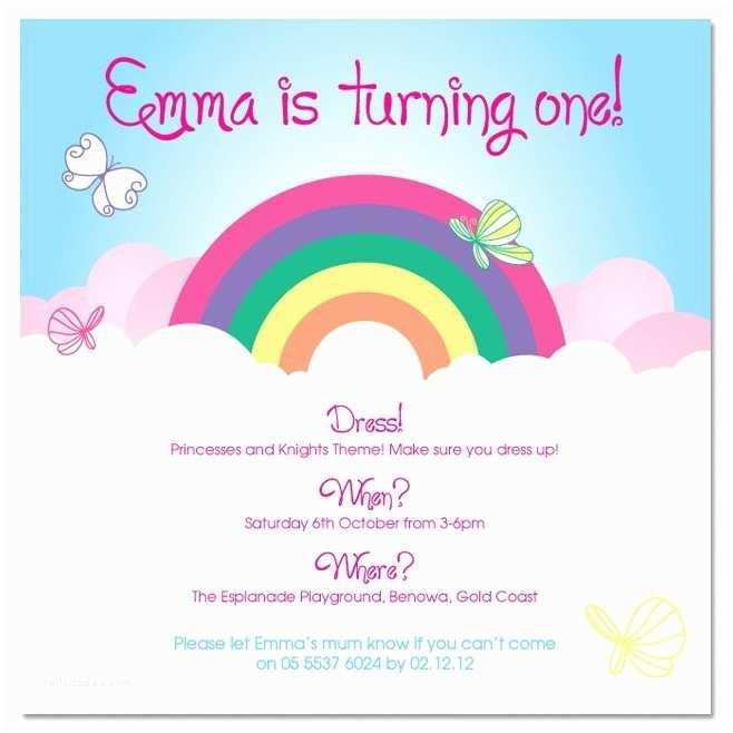 Rainbow Birthday Invitations 8 Best Of Pool Party Invitation Printable
