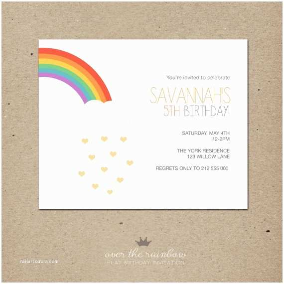 Rainbow Party Invitations 25 Best Ideas About Over the Rainbow On Pinterest