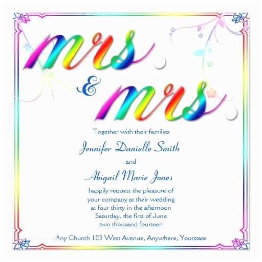 Rainbow Wedding Invitations 2 000 Rainbow Wedding Invitations Rainbow Wedding