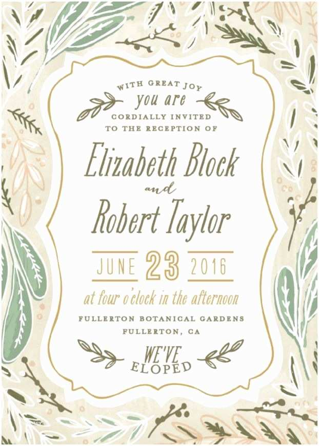 Reception Invitation Wording after Private Wedding 17 Best Ideas About Elopement Announcement On Pinterest