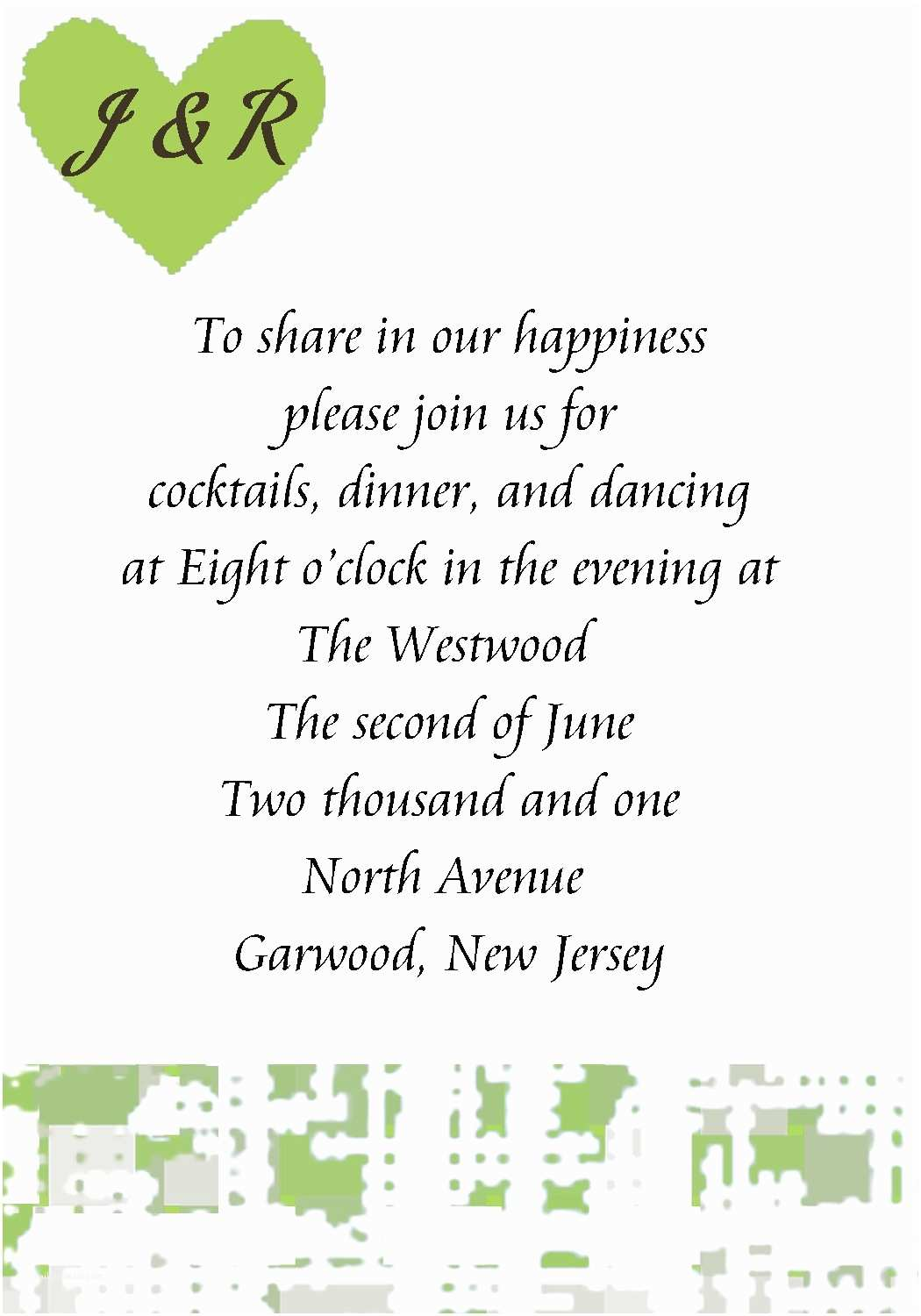 Reception Invitation Wording after Private Wedding Wedding Reception Invitation Wording – Gangcraft