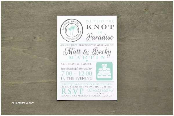 Reception Invites After Destination Wedding 8 Destination Wedding Invitations Free Sample