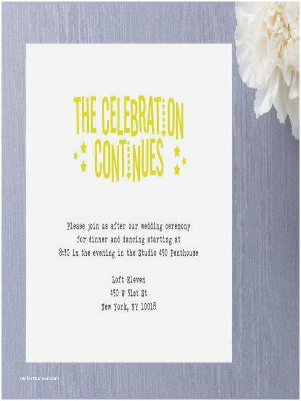 Reception Invites after Destination Wedding after Destination Wedding Reception Invitations