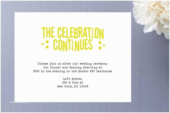 Reception Invites after Destination Wedding after Party Invitation Wording