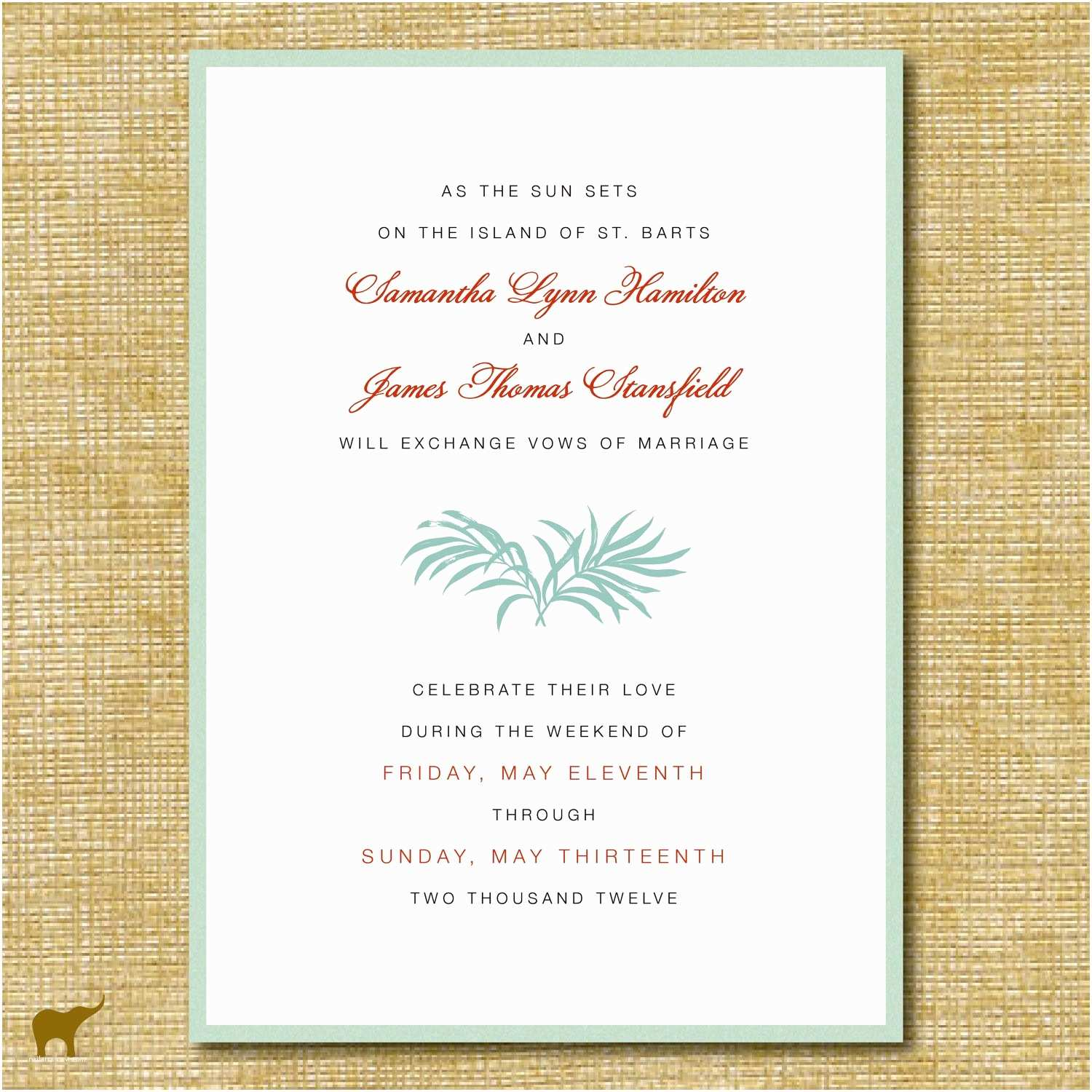 Reception Invites After  Wedding Best Invitation Wording For Party After