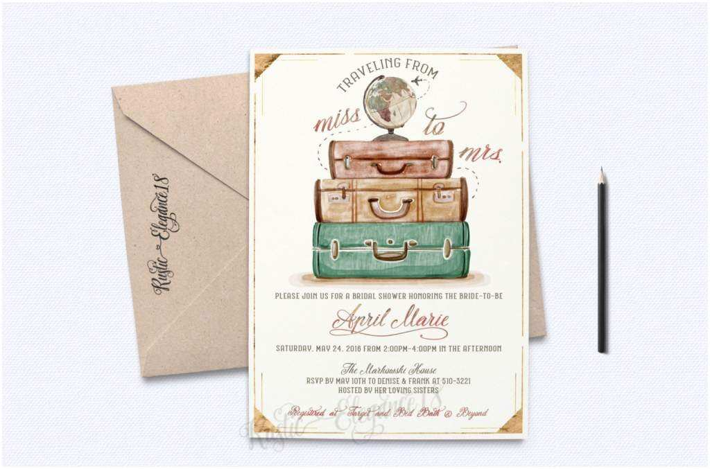 Reception Invites After Destination Wedding Destination Wedding Invitation
