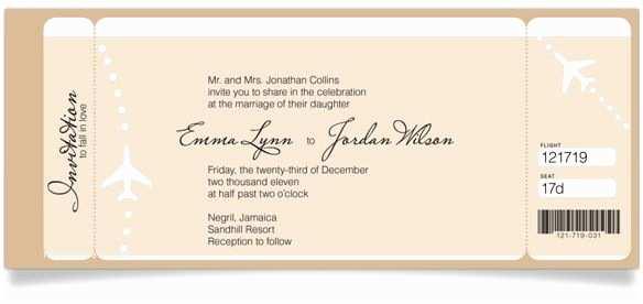 Reception Invites after Destination Wedding Private Ceremony Reception Later