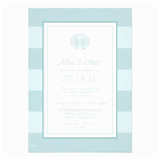 "Reception Invites After Destination Wedding Sea Shell Destination Post Wedding Reception Ly 5"" X"