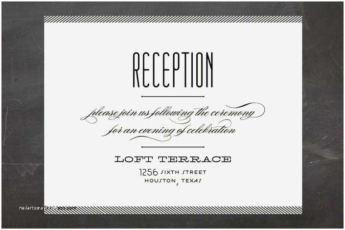Reception Invites After  Wedding Wedding Invitation Best Reception After