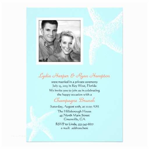 Reception Invites after Destination Wedding Wedding Invitation Wording Post Beach Wedding Reception