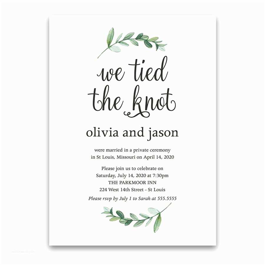 Reception Only Wedding Invitations Wedding Reception Only Invites Archives Noted Occasions