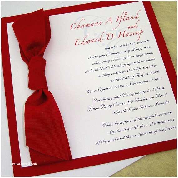 Rectangle Wedding Invitations Square Wedding Invitation With