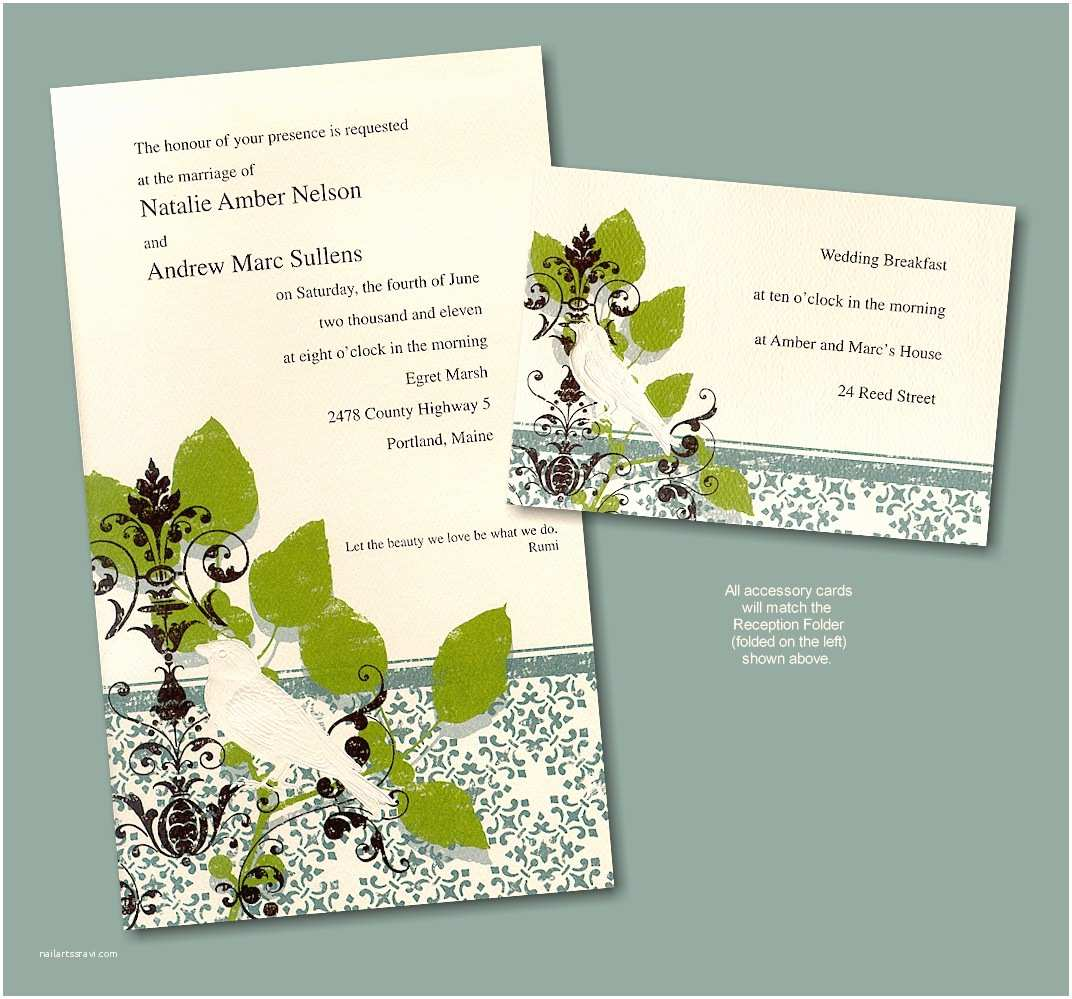 Recycled Paper Wedding Invitations Bridal Shower Invitations Bridal Shower Invitations
